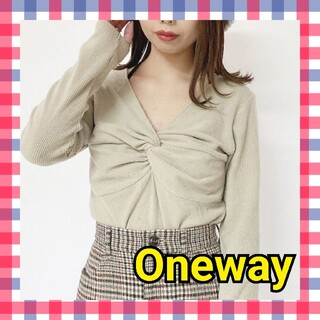 one*way - Oneway トップス カットソー 長袖 レディース