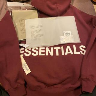 Essential - ESSENTIALS パーカー M