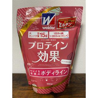 ウイダー(weider)の新品 未開封 ウイダー プロテイン効果 ソイカカオ味 660g(プロテイン)
