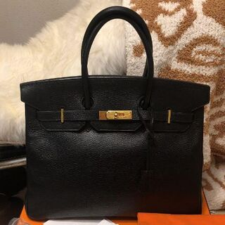 Hermes - Hermès エルメス バーキン30 ブラック 黒 美品