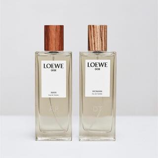 ロエベ(LOEWE)のロエベ 001 man women トワレ 5ml  LOEWE 香水 001(ユニセックス)