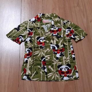 ヒステリックミニ(HYSTERIC MINI)のヒステリックミニ アロハシャツ 新品 パンダ トップス 100 90 (Tシャツ/カットソー)