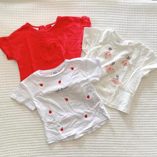 ザラ(ZARA)のZARA baby 女の子 Tシャツ3枚セット(Tシャツ)