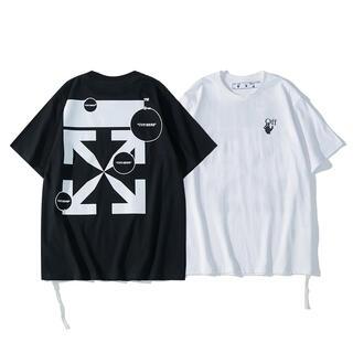 OFF-WHITE - 2枚1万円 自由に組み合わせ OFF-WHITE シャツ 男女兼用 DO119