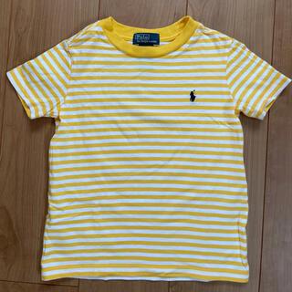 POLO RALPH LAUREN - POLO RALPH LAUREN KIDS イエローボーダー 半袖Tシャツ