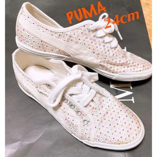 PUMA - PUMA プーマ スニーカー UK5 38 24.0cm