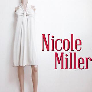 ニコルミラー(Nicole Miller)の極美ライン♪ニコルミラー セレブ定番 ストレッチワンピース♡マカフィー ミリー(ひざ丈ワンピース)