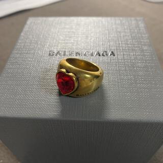 バレンシアガ(Balenciaga)のBalenciaga ハートストーンリング(リング(指輪))