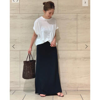 Plage - plage  Side Slit Long スカート