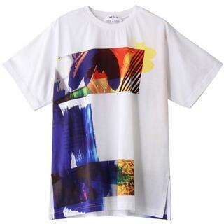 ENFOLD - 新品タグ付 エンフォルド  2021SS クルーネック半袖Tシャツ