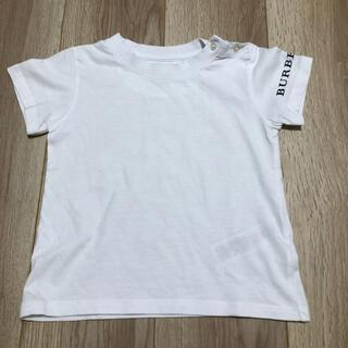 BURBERRY - バーバリー Tシャツ 白 サイズ3Y(100cm)
