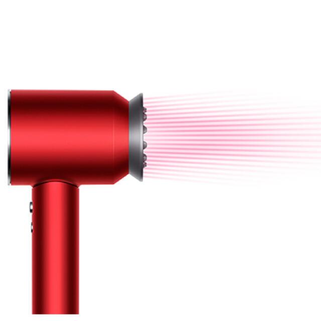 Dyson(ダイソン)のdyson HD03 ULF RRN レッド Supersonic Ionic スマホ/家電/カメラの美容/健康(ドライヤー)の商品写真