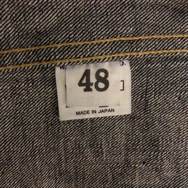 WAREHOUSE(ウエアハウス)のウエアハウス warehouse  DD s2001xx サイズ48 Tback メンズのジャケット/アウター(Gジャン/デニムジャケット)の商品写真