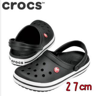 crocs - 新品 27cm クロックス クロックバンド ブラック
