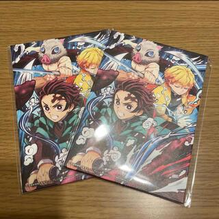 鬼滅の刃 映画 特典 劇場版 無限列車編 第六弾 イラストカード 2袋