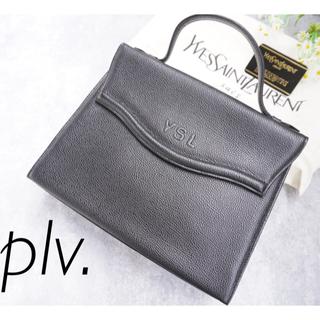 Saint Laurent - イヴサンローラン   YSLロゴ ハンドバッグ ブラック 保存袋付き