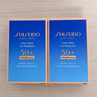 シセイドウ(SHISEIDO (資生堂))の資生堂 クリアスティックUVプロテクター ×  2個  (日焼け止め/サンオイル)