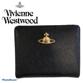 Vivienne Westwood - 【極美品箱付き】ヴィヴィアンウエストウッド がま口 財布 2つ折り オーブ