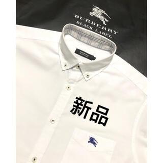 BURBERRY - 新品 バーバリーブラックレーベル 7分袖シャツ2