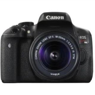 キヤノン(Canon)のCanon eoskissx8iレンズ2つセット画質綺麗デジタル一眼レフカメラ(デジタル一眼)