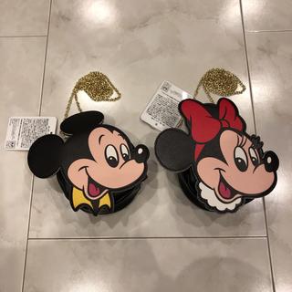 Disney - ディズニー ミッキー ミニー ショルダーバック