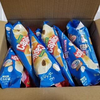 グリコ(グリコ)のグリコ ジャイアント カプリコ ミルク6個 イチゴ12個 計18個(菓子/デザート)