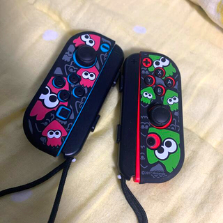 Nintendo Switch - Switch 純正ジョイコン & カバーセット 任天堂