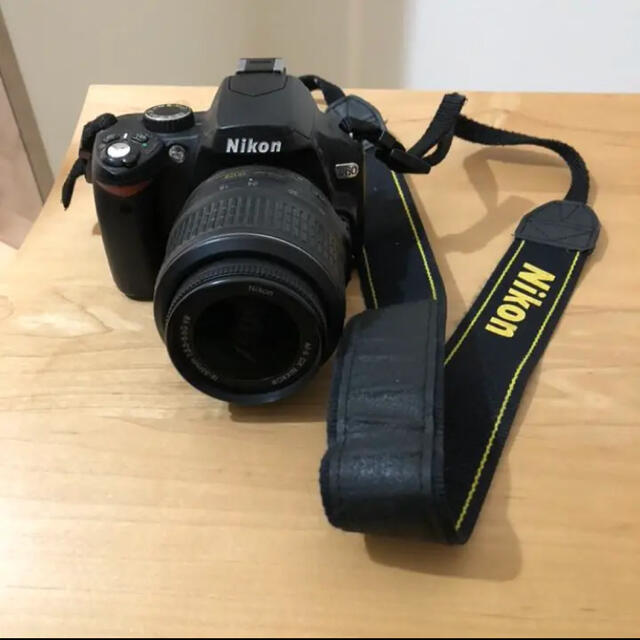 NIKON 一眼レフ デジタルカメラ D60 スマホ/家電/カメラのカメラ(デジタル一眼)の商品写真
