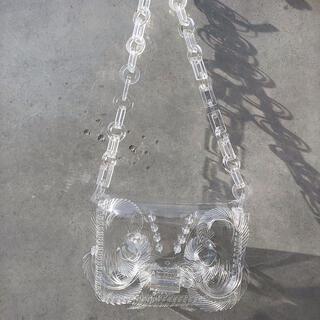 mame - 新品未使用 mame PVC ミニチェーンバッグ