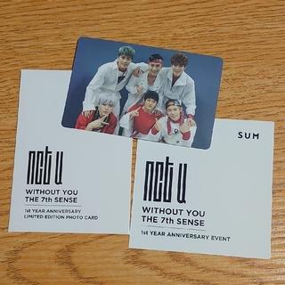 NCT U デビュー1周年記念 フォトカード(K-POP/アジア)