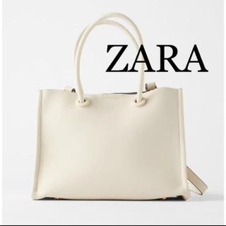 ZARA - ZARA ミニマルトートハンドバッグ