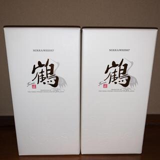 ニッカウイスキー 蒸留所限定  鶴2本 送料無料