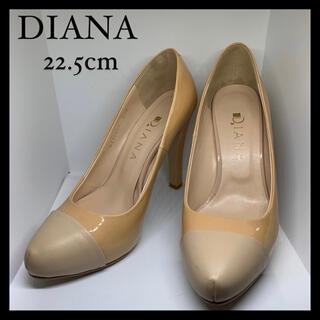 DIANA - 【靴】DIANA ダイアナ パンプス ハイヒール エナメル 22.5cm