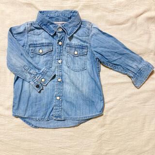 ベビーギャップ(babyGAP)のGAP  babygap デニムシャツ デニムジャケット18M   (ジャケット/コート)