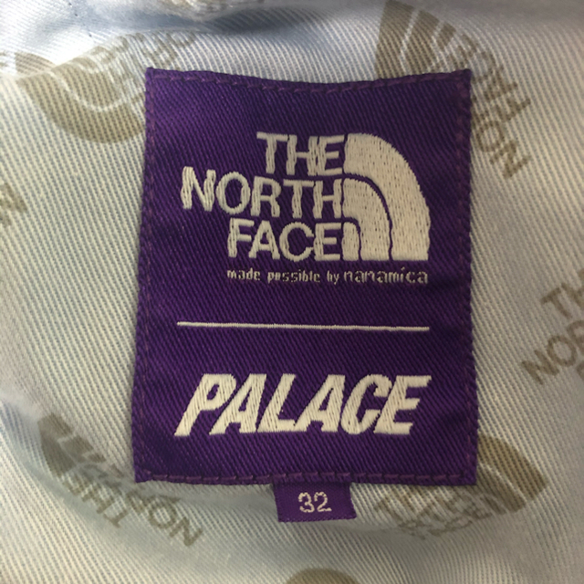 THE NORTH FACE(ザノースフェイス)のPALACE NORTH FACE Mountain Wind Pants メンズのパンツ(デニム/ジーンズ)の商品写真
