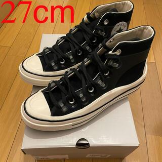 CONVERSE - converse chuck 70 x kim jones black 27cm