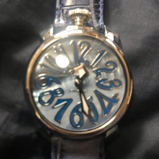 ガガミラノ(GaGa MILANO)のガガミラノ40ミリ20日迄の限定価格(腕時計)
