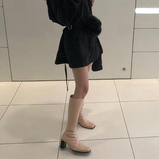 the virgins long boots croco beige(ブーツ)
