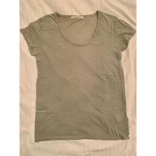 ブラックバイマウジー(BLACK by moussy)のブラックバイマウジー バロック カーキTシャツ 無地 シンプル(Tシャツ(半袖/袖なし))