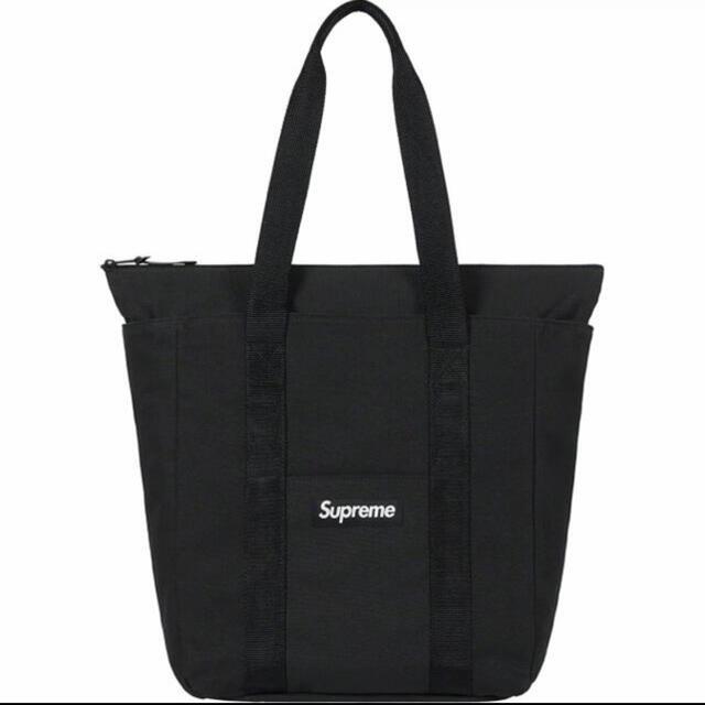 Supreme(シュプリーム)のSupreme Canvas Tote トートバッグ 黒 メンズのバッグ(トートバッグ)の商品写真
