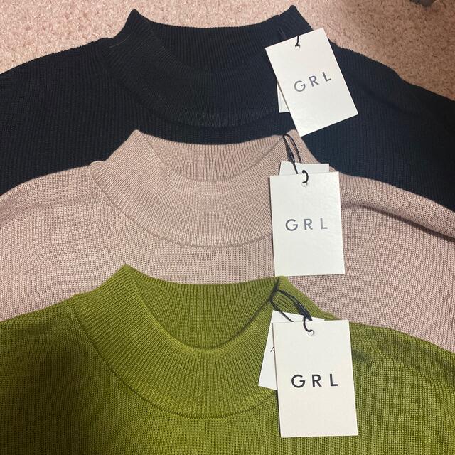 GRL(グレイル)のyさん専用 レディースのトップス(ニット/セーター)の商品写真