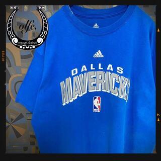 アディダス(adidas)のadidas アディダス 半袖Tシャツ NBA 青 ブルー マーベリックス(Tシャツ/カットソー(半袖/袖なし))