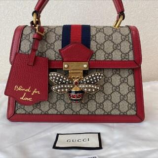 Gucci - 新品未使用★GUCCI ハチ クイーンマーガレット 蜂 ハンドバッグ
