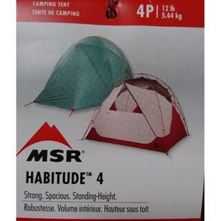 エムエスアール(MSR)の3-44・2020年・NEWモデル・MSR ハビチュード4 ファミリーテント(テント/タープ)