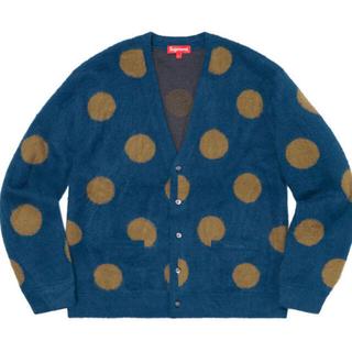 Supreme - supreme polka dot cardigan navy Lサイズ