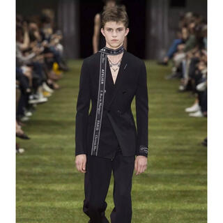DIOR HOMME - dior homme 18ss look1 atelier ダブルジャケット