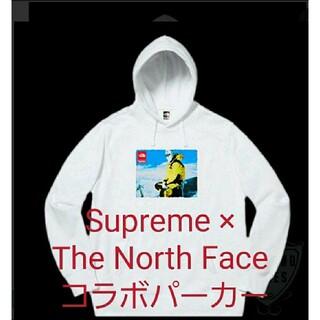 シュプリーム(Supreme)のSupreme × The North Face コラボパーカー タグ付き(パーカー)