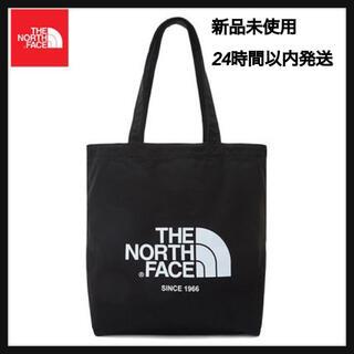THE NORTH FACE - ノースフェイス トートバッグ ブラック 黒 韓国限定 コットン シンプル 新品