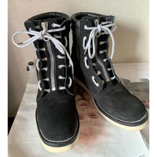 イサムカタヤマバックラッシュ(ISAMUKATAYAMA BACKLASH)のバックラッシュ ジャパンカーフファイヤーマンブーツ 美品❗️(ブーツ)