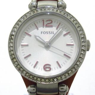 フォッシル(FOSSIL)のフォッシル美品  ES3472 レディース(腕時計)